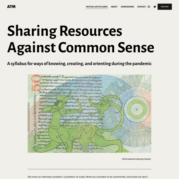 Sharing Resources Against Common Sense