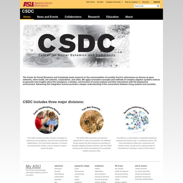 Welcome | CSDC