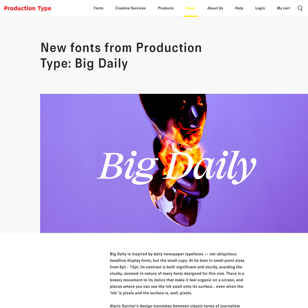 Production Type