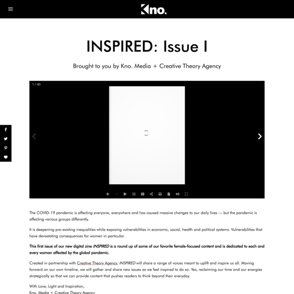 INSPIRED: Issue I | Kno.