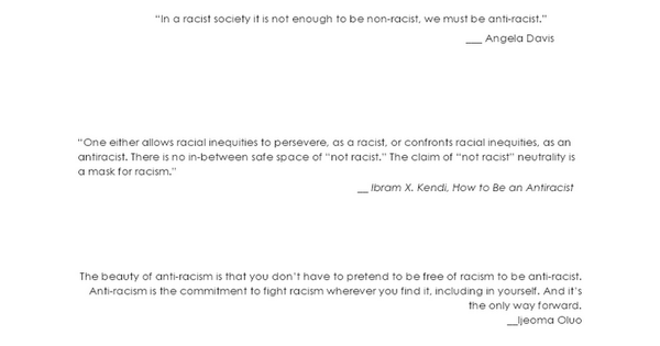Shareable Anti-racism Resource Guide