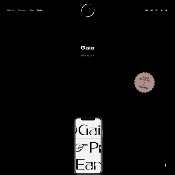 NORA KASZANYI I Graphic Designer - Gaia