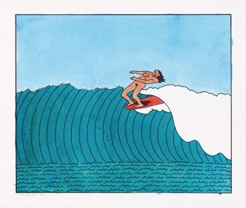 Ken Price Surfer