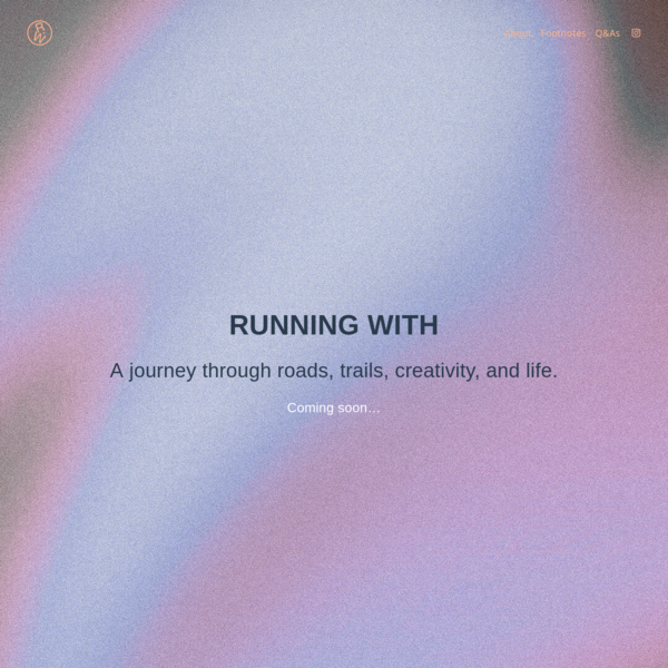 RUNNING WITH