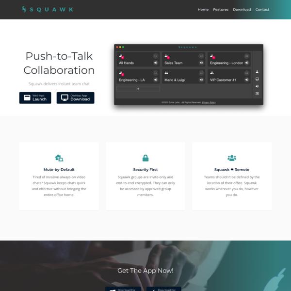 Push-to-Talk Collaboration