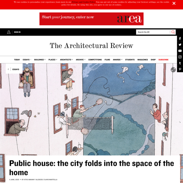 Public house: the city folds into the space of the home | Essay | Architectural Review