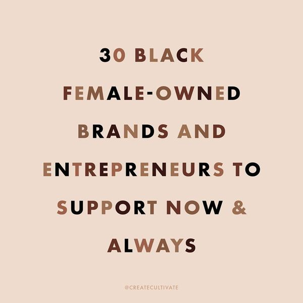 """CREATE & CULTIVATE on Instagram: """"Did you know black women-owned businesses represented the highest rate of growth over the ..."""