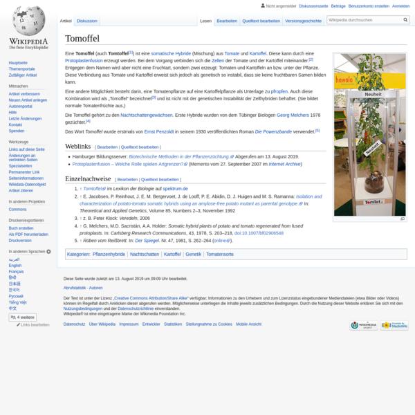 Tomoffel – Wikipedia