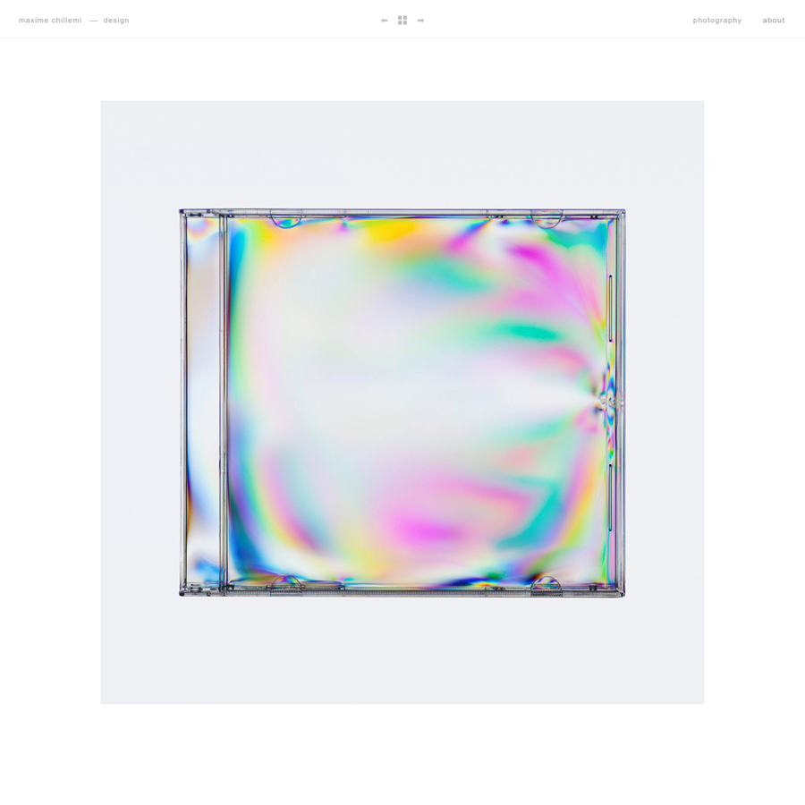The visual work of Maxime Chillemi. Graphic design, web design and photography. Available for freelance projects.