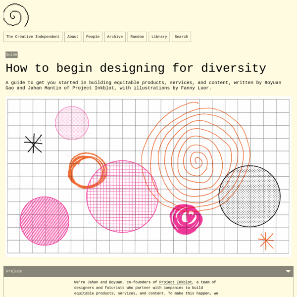 How to begin designing for diversity