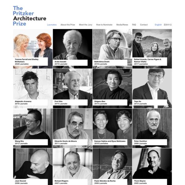 Laureates   The Pritzker Architecture Prize