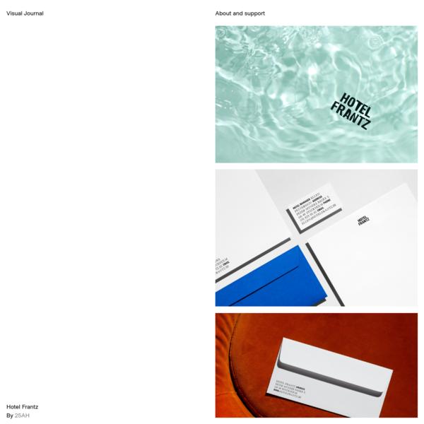 Hotel Frantz - Visual Journal