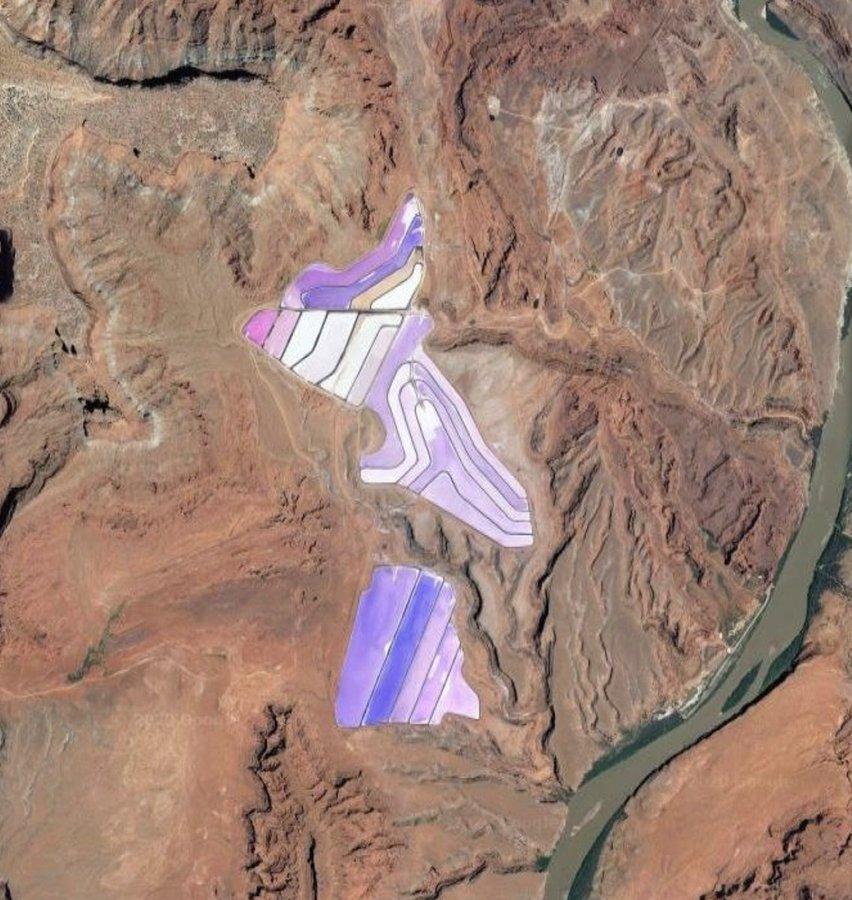 Potash Ponds - Moab, Utah