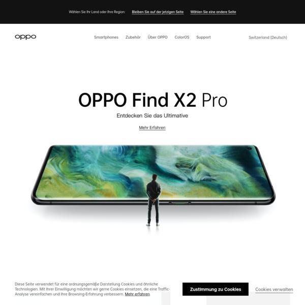 OPPO Mobile für Smartphones & Zubehör | OPPO Schweiz