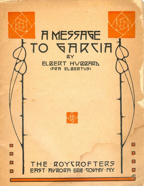 A Message to Garcia cover (early 1900s)