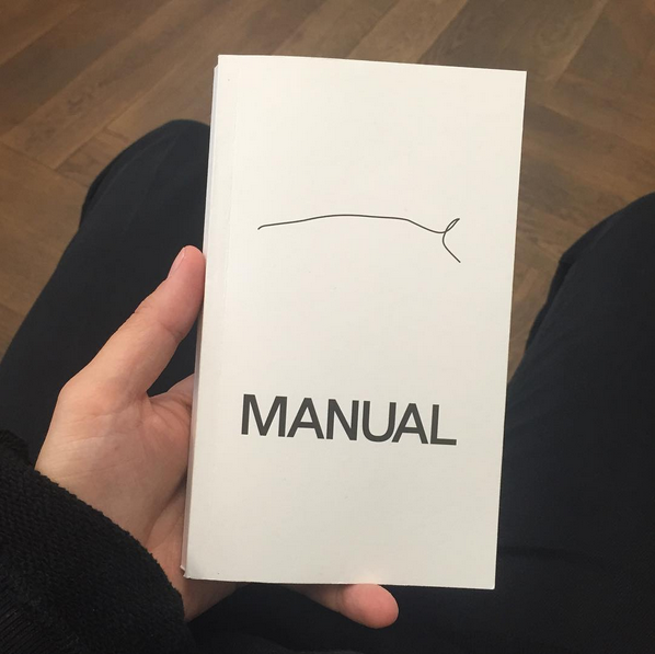 [*Manual*](https://www.mumok.at/en/anna-sophie-berger-manual) Artist's book which is to be understood as a component and an extension of the museum installation, as part of her exhibition [*Places to fight and to make up*](https://www.mumok.at/en/events/anna-sophie-berger-places-fight-and-make) book launch on Thursday, November 10, 2016 at 9pm  at MUMOK, Vienna, AT