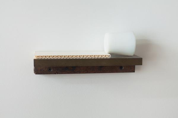 2012.03 Bill Walton, White Glass, White Cardboard, n.d.