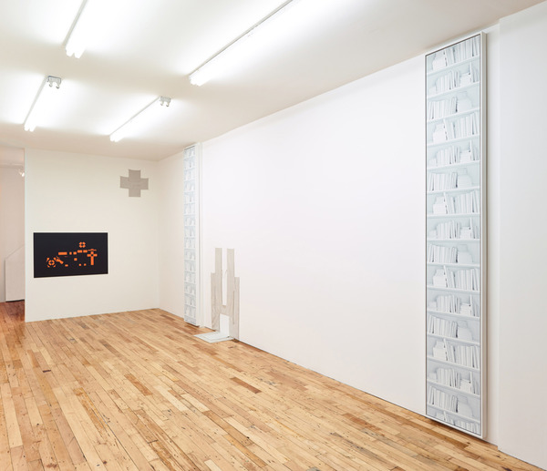 2013.01 Snout to Tail : Anna-Sophie Berger, Zak Kitnick, Sean Paul, Snout to Tail, Installation view, 2013