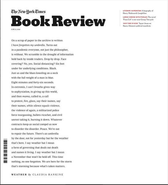 The New York Times Book Review (June 21, 2020)