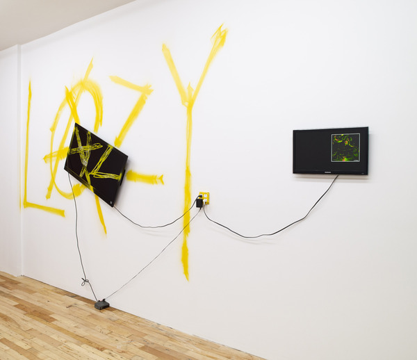 "Installation view, ""Jeff Cold Beer"", JTT, New York, 2012"