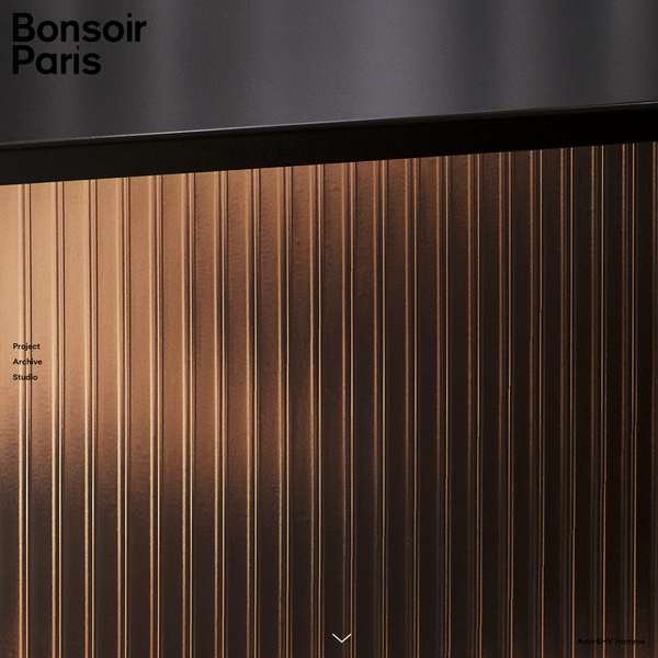 Bonsoir Paris is a creative studio that stimulates curiosity in the everyday, and makes the impossible seem logical. Working at the intersection of art, science, design and technology, the approach is defined by experimentation and cutting-edge innovation.