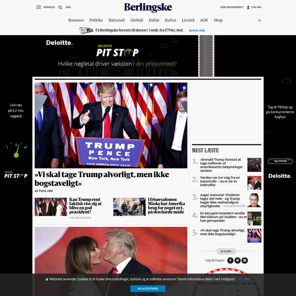 Berlingske Nyheder | Læs de seneste nyheder på b.dk