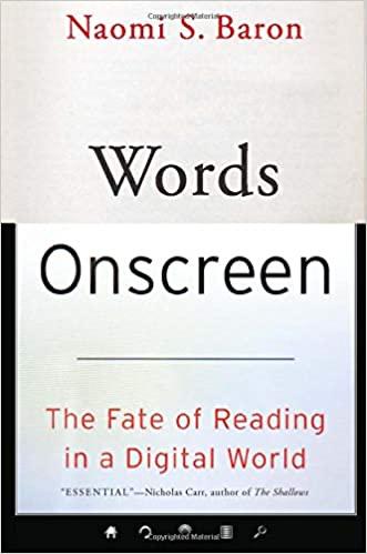 Words Onscreen, Naomi S. Baron