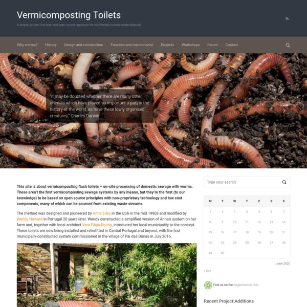 Vermicomposting Toilets