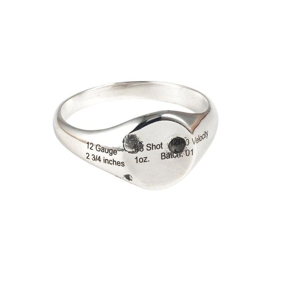 "Jason Le Compte on Instagram: """"HIGHDESERT"" Small Signet ring in .925 #sterlingsilver. Pattern will vary . . . . . . #handma..."