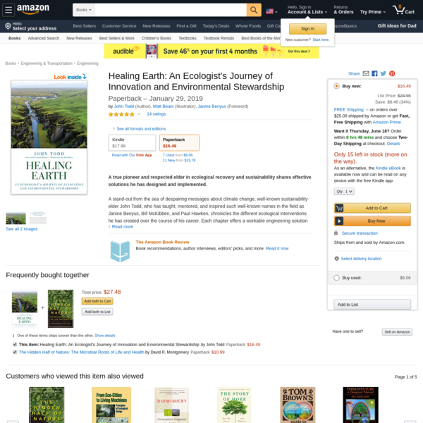 Healing Earth: An Ecologist's Journey of Innovation and Environmental Stewardship https://www.amazon.com/dp/1623172985/ref=cm_sw_r_oth_api_i_-iY5EbPX1SZYG