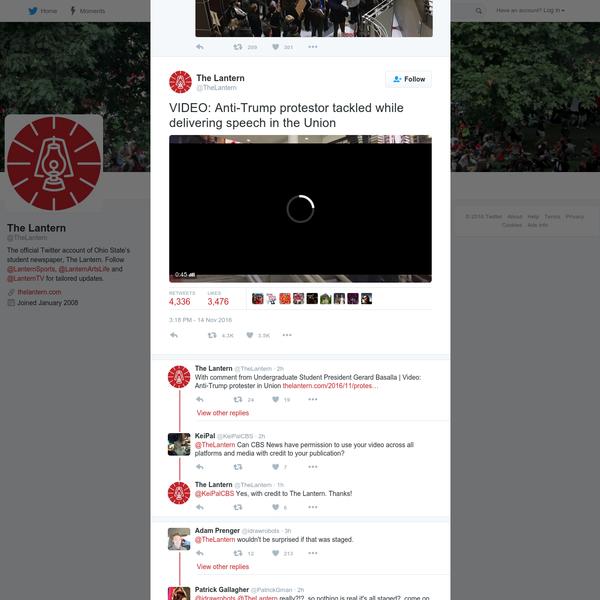 The Lantern on Twitter