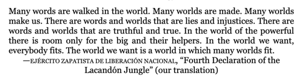 Fourth Declaration of the Lacandón Jungle
