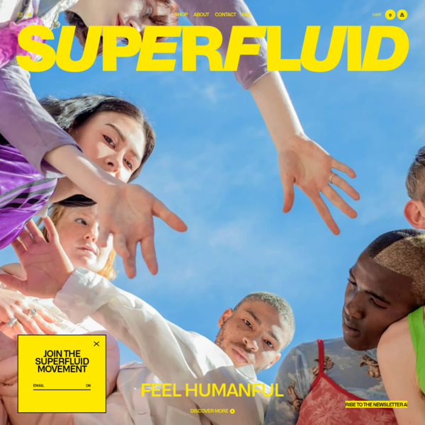 Superfluid | Products are tools, we are beauty