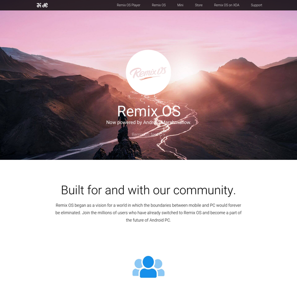 Remix OS - The Future of Android PC is now on Android Marshmallow