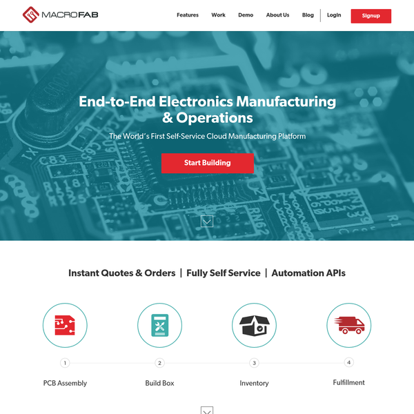 MacroFab | End-to-End Electronics Manufacturing & Operations