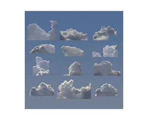 1. Michael Jones Mckean, Cloud Formations, 2013 . 2. Kent Rogaowski, There is a Rainbow, 2013 . 3. People in India can see t...