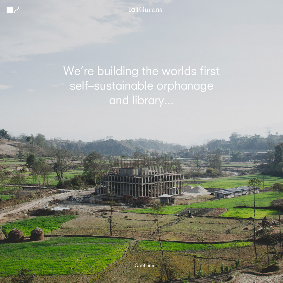 The first self-sustainable orphinage and library in Kathmandu, Nepal