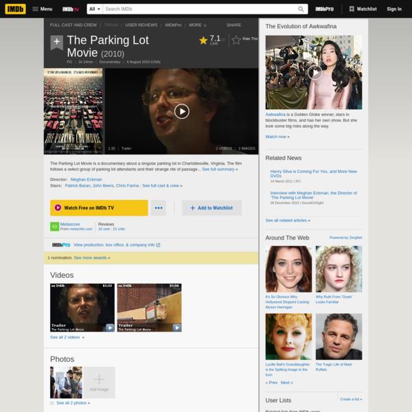The Parking Lot Movie (2010) - IMDb