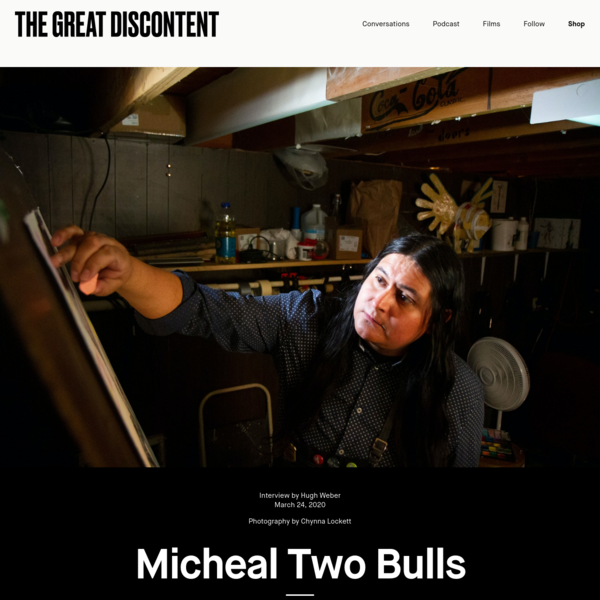 Micheal Two Bulls on The Great Discontent (TGD)