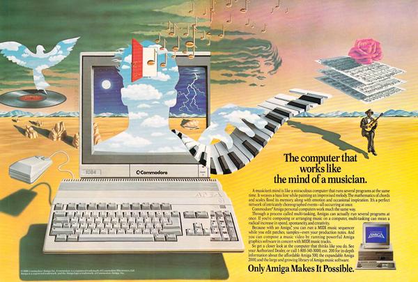 Amiga Ad, 1988