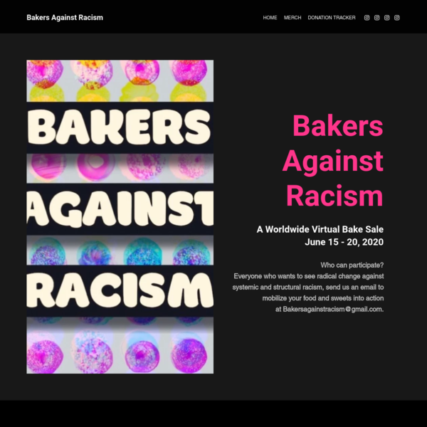 HOME   Bakers Against Racism