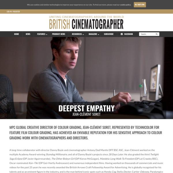 Jean-Clément Soret - British Cinematographer