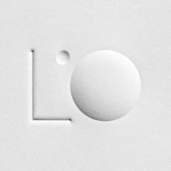 Logo for lighting design firm @lobservatoire_intl . Multi-level embossing on business card. #lobservatoire