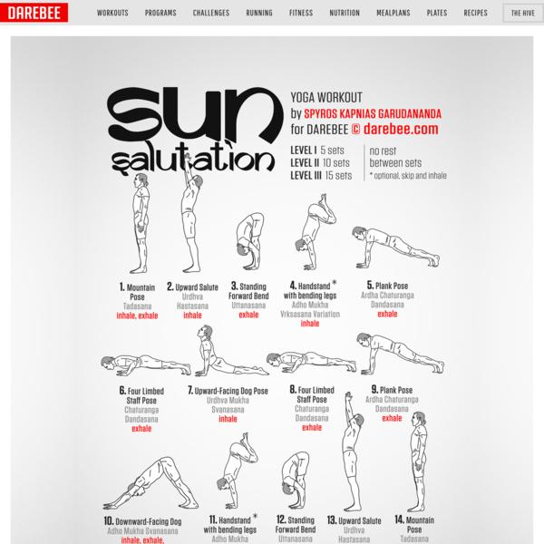 Sun Salutation Workout