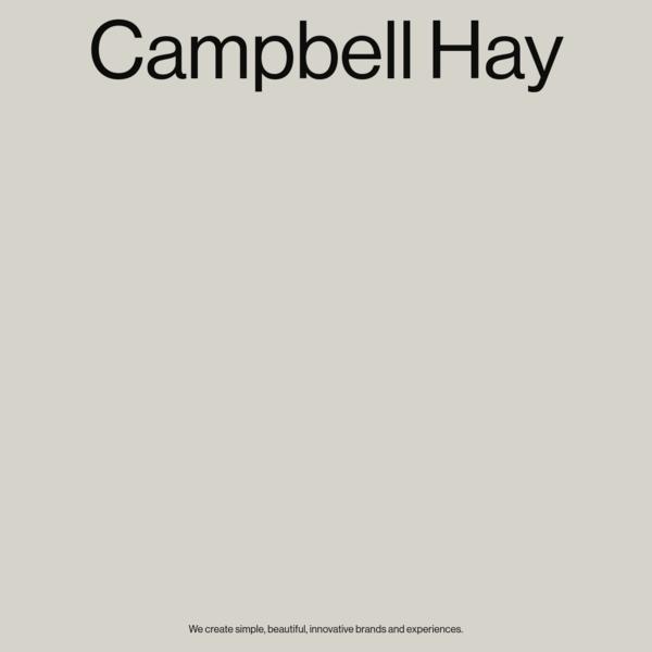Campbell Hay
