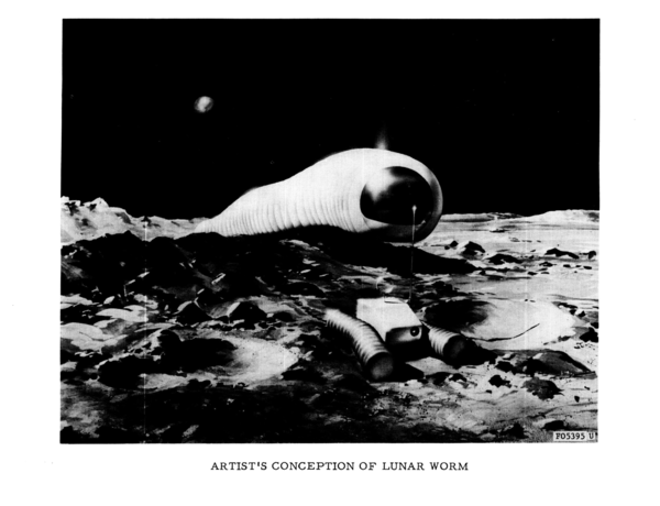 """Lunar Worm"", 1966"