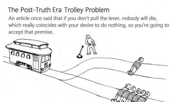 post truth trolley
