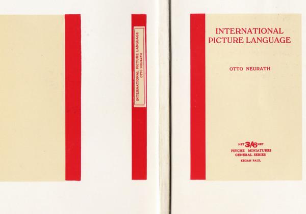 International Picture Language — Otto Neurath (1936)