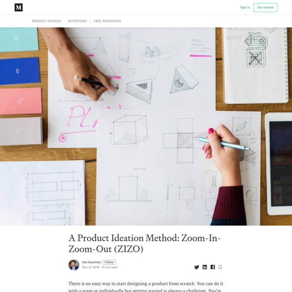A Product Ideation Method: Zoom-In-Zoom-Out (ZIZO)