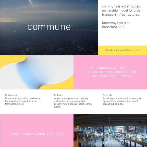 commune - shared movement